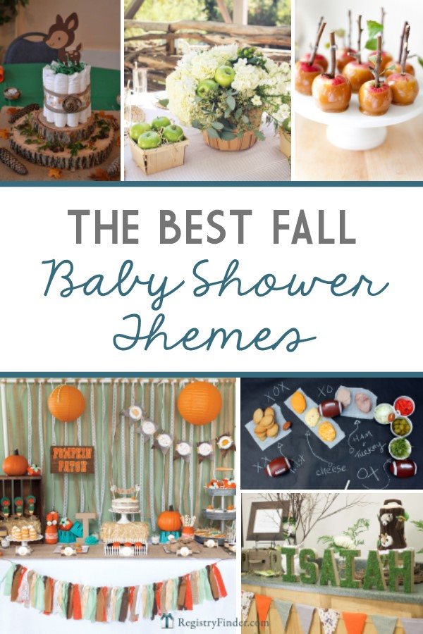 Best Fall Baby Shower Themes