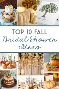 The best Fall Baby Shower Themes