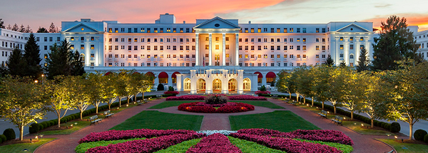 Greenbriar Resort, WV | US Honeymoon Destinations