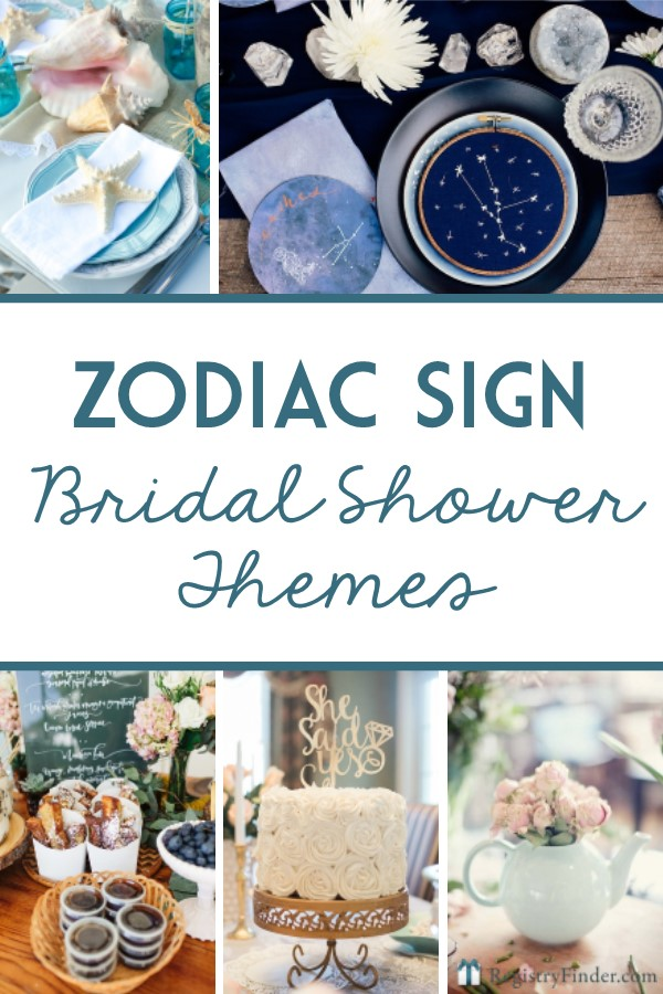 Bridal Shower Themes for Every Zodiac Sign