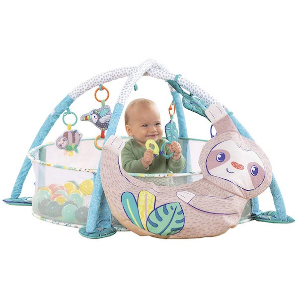Infantino 4-in-1 Jumbo Baby Activity Gym & Ball Pit