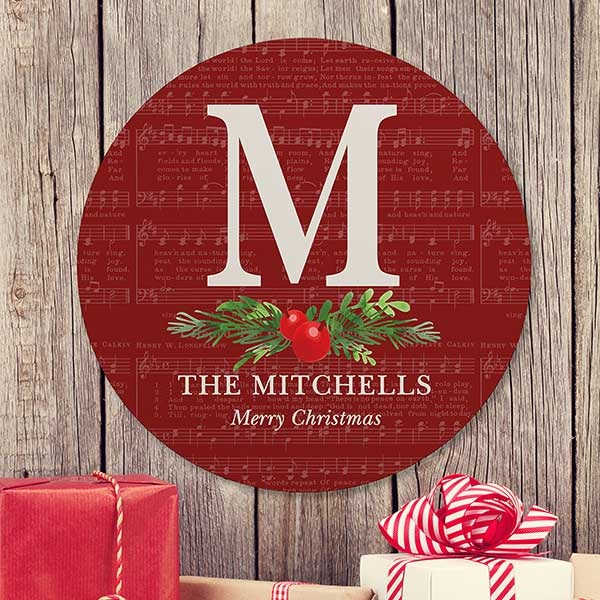 Holiday Gifts for Couples | Personalized Christms Sign