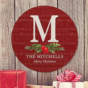 Holiday Gifts for Newlyweds | Christmas Sign