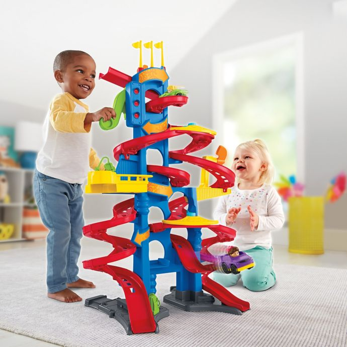 Fisher Price Little People Take Turns Skyway Playset