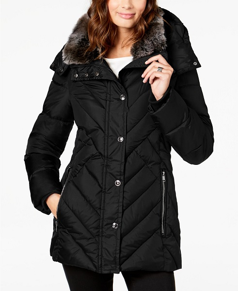College Winter Essentials | London Fog Down Coat