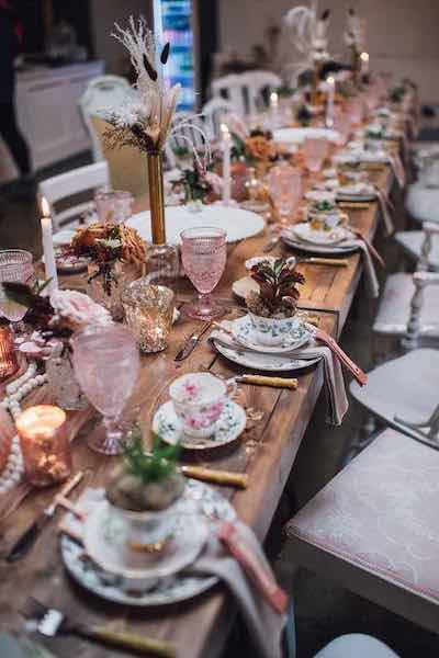 Floral High Tea Baby Shower