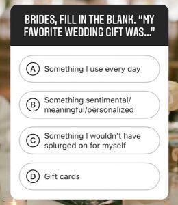 Brides Poll