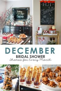 December Bridal Shower Ideas by RegistryFinder.com