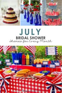 July Bridal Shower Theme Ideas from RegistryFinder.com