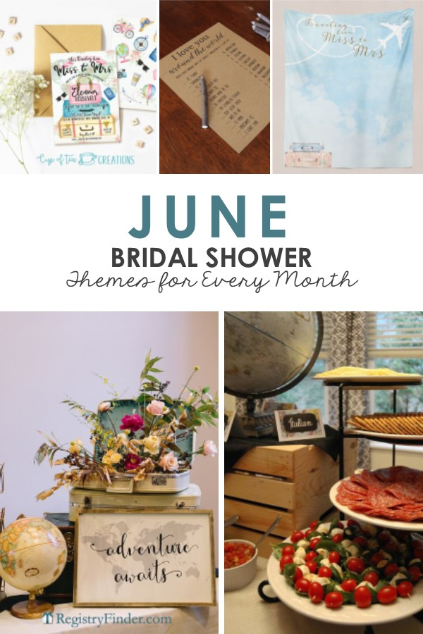 June Bridal Shower Themes Presented by RegistryFinder.com
