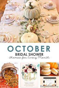 October Bridal Shower Ideas by RegistryFinder.com