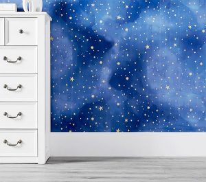 Designing A Small Space Nursery | Wallpaper & Decals