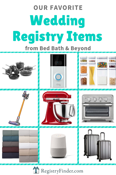 Top 20 Wedding Registry Items from Bed Bath & Beyond
