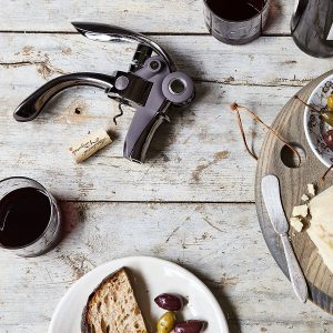 Even the trustiest wine bottle opener will pale in comparison to this easy-to-use lever corkscrew.