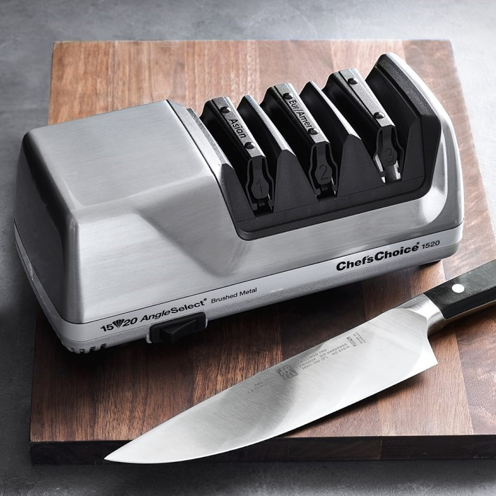 Even the most expensive knife needs a proper sharpening, which makes an electric sharpener a fabulous gift for any marriage.
