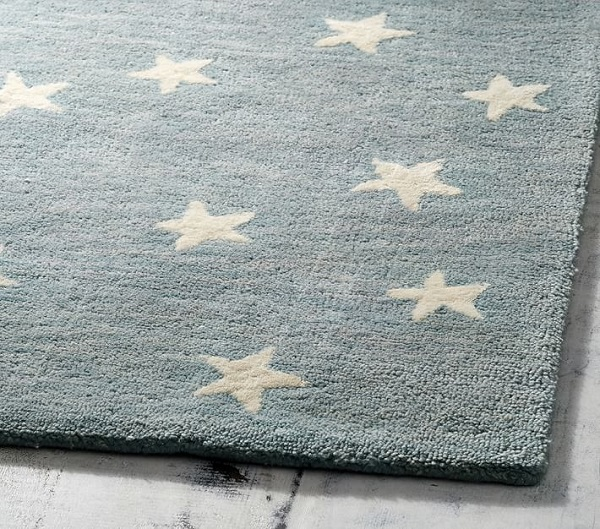 Designing A Small Space Nursery | Starry Skies Rug