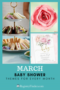Baby Showers For Every Month In Five Steps | March: Tea Party