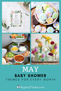 Baby Showers For Every Month In Five Steps | May: May Flower Fiesta