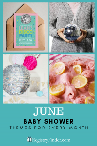 Baby Showers For Every Month In Five Steps | June: Disco Fever