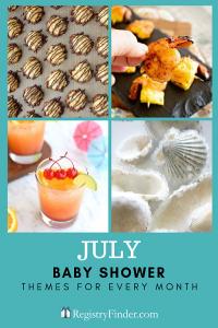 July Baby Shower Theme: Tropical Hawaiian Luau