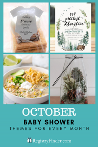 Baby Showers For Every Month In Five Steps | October: The Great Outdoors