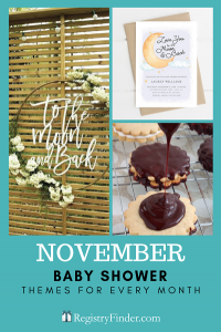 Baby Showers For Every Month In Five Steps | November: Love You To the Moon