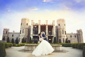 wedding at a castle