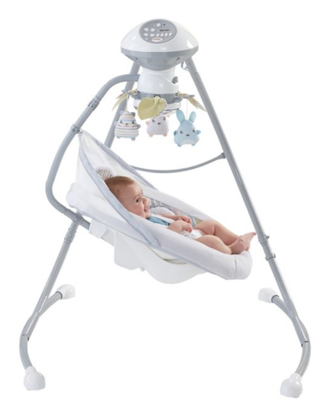 Fisher Price Sweet Snugapuppy Dreams Cradle N Swing | BuyBuyBaby Registry Tips