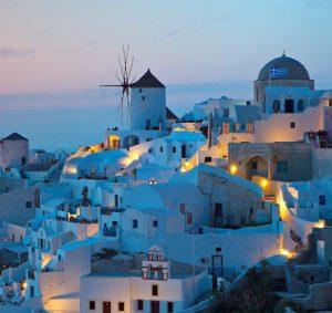 Top honeymoon destinations   Santorini
