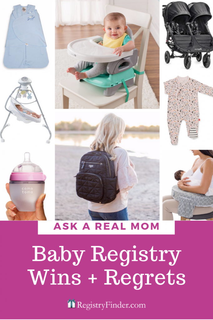 Baby Registry Wins and Registry Regrets. Our mom panel weighs in on the must have baby items!