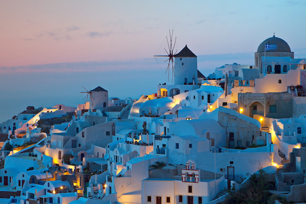 Top honeymoon destinations | Santorini
