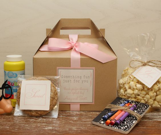 Kid's Welcome Wedding Bags