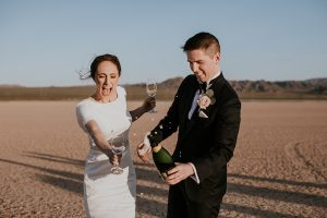 Cheers! May your wedding reception be the celebration of a lifetime!