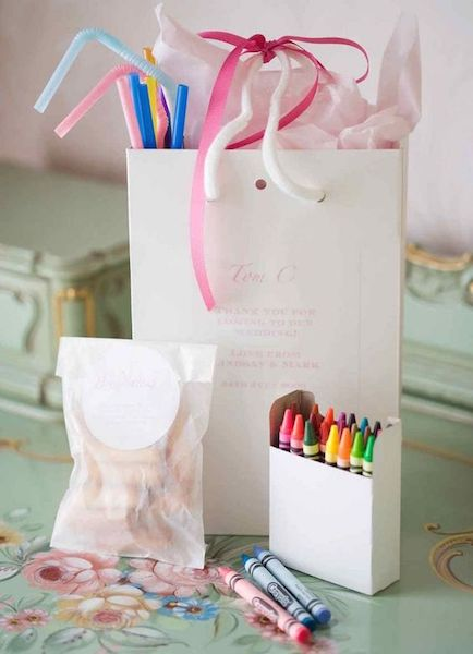 Wedding Week Welcome Bags | For the Kids
