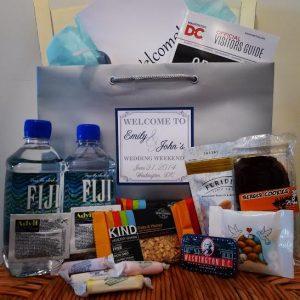 Wedding Week Welcome Bags | Snacks + Drinks