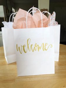 Guest Wedding Week Welcome Bag | The Details