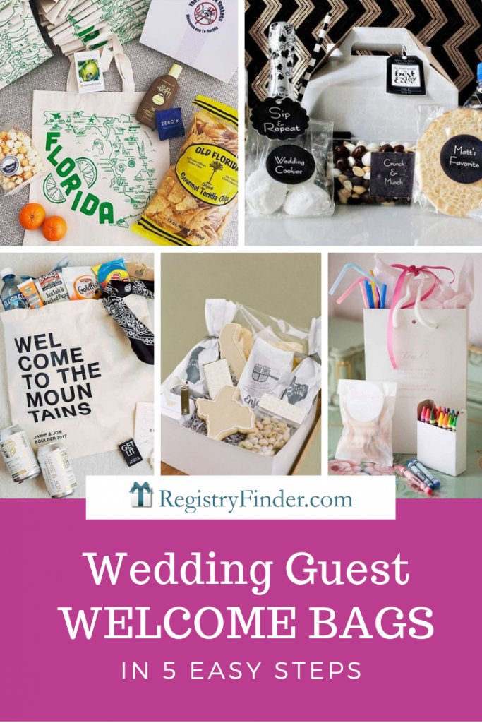 Wedding Guest Welcome Bags