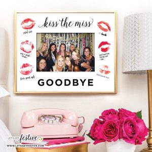 Meaningful Gifts from Bridal Party | Bridesmaid Frame