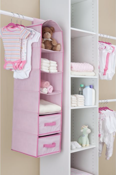 Delta Children 3-Piece Complete Nursery Organization Set