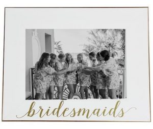Meaningful Gift from Bridal Party | Framed Photo