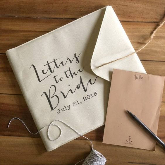 Meaningful Gifts from Bridal Party | Notes for the Bride