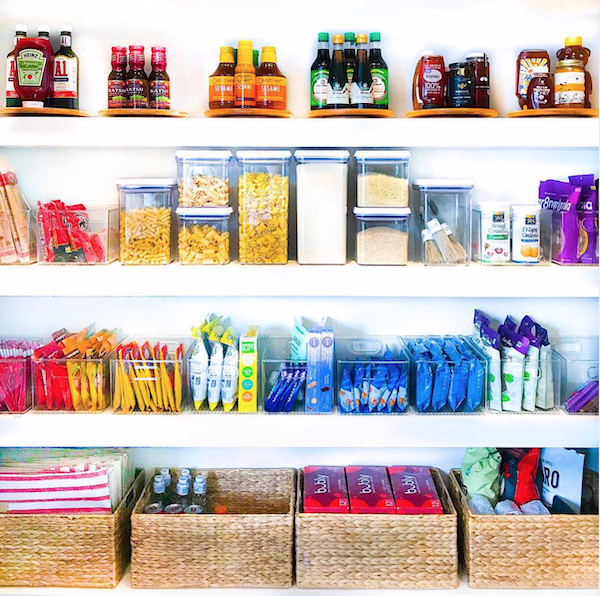 The Home Edit Organization | Organized kitchen pantry | Pregnancy Self-Care