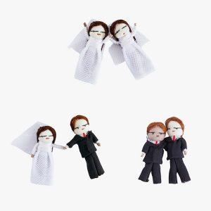 Of A Kind Wedding Worry Dolls