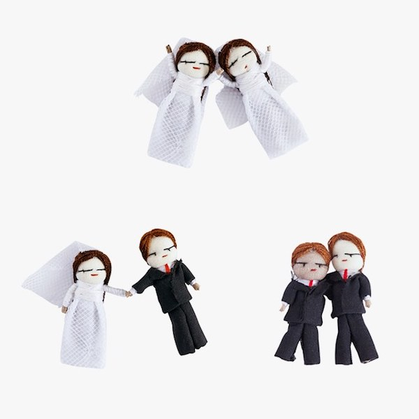 Of A Kind Wedding Worry Dolls