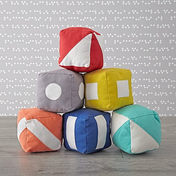 Foolproof Baby Shower Gifts | Soft Baby Blocks