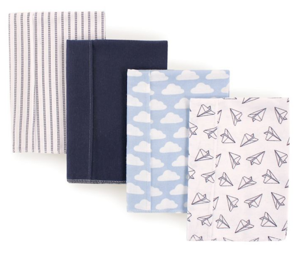 Foolproof Baby Shower Gifts | Burp Cloths