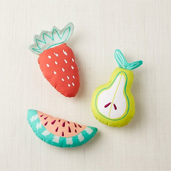Foolproof Baby Shower Gifts | Fruit Baby Rattles