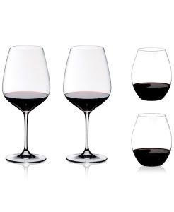 4 Piece Wine Glass