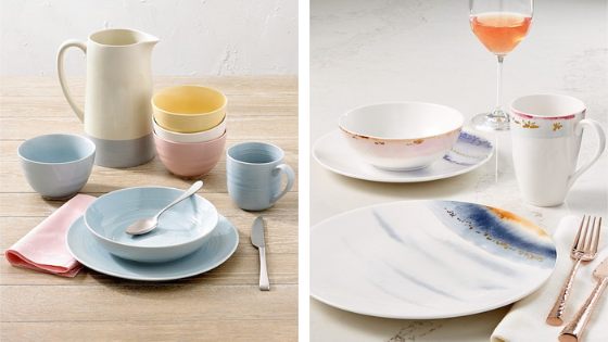 register for dinnerware