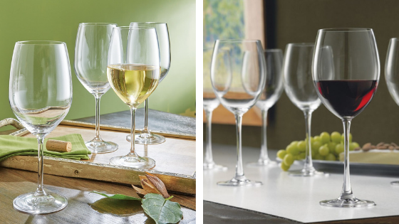register for wine glass set
